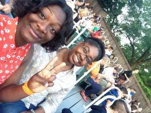 Wendella Wilson and Me at The Delacorte Theater