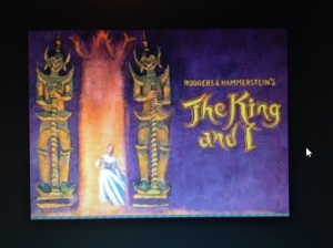 The King and I performed at The Lincoln Center Theater